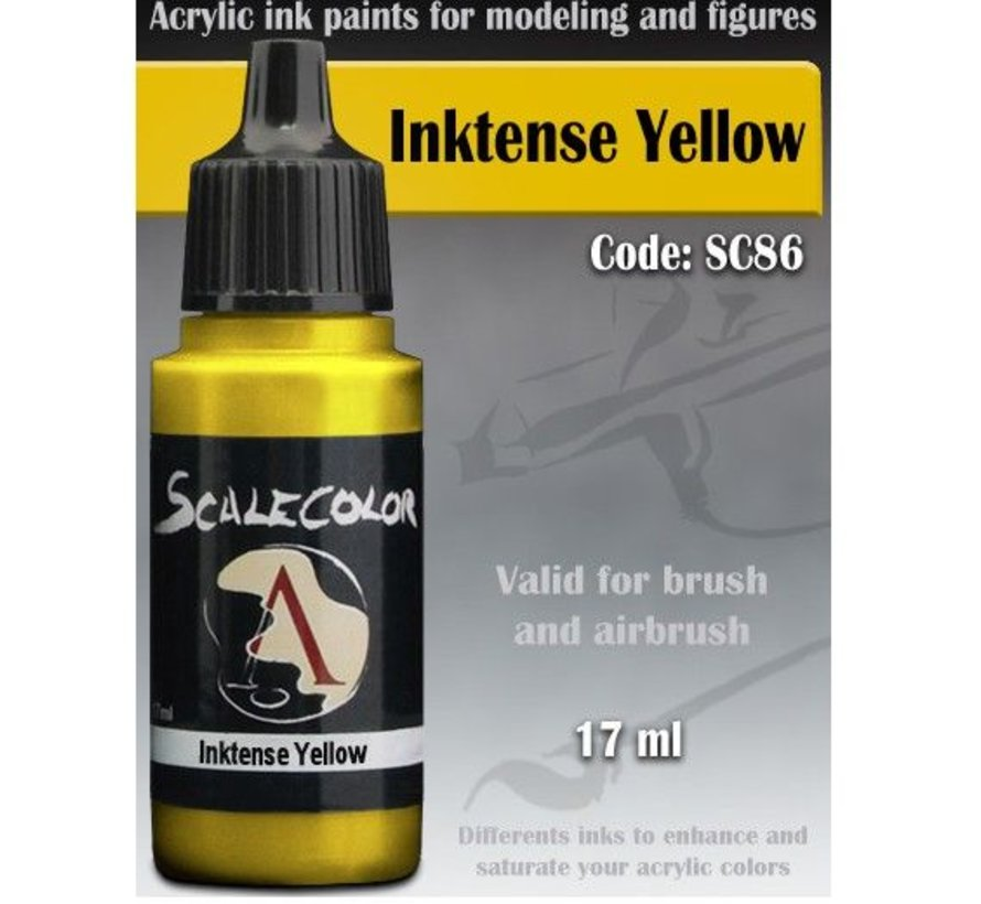 Scalecolor Inktense Yellow - 17ml - SC-86