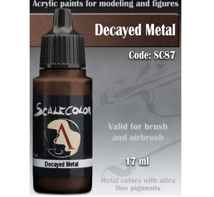 Scalecolor Decayed Metal - 17ml - SC-87
