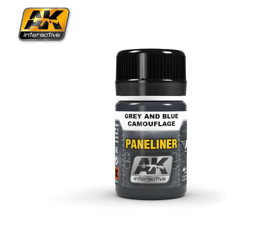 Paneliners for Grey and Blue Camouflage -35ml - AK2072