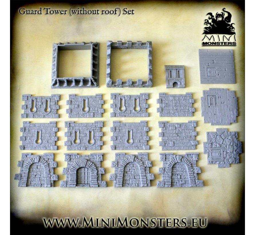 Guard Tower without Roof - MM-47