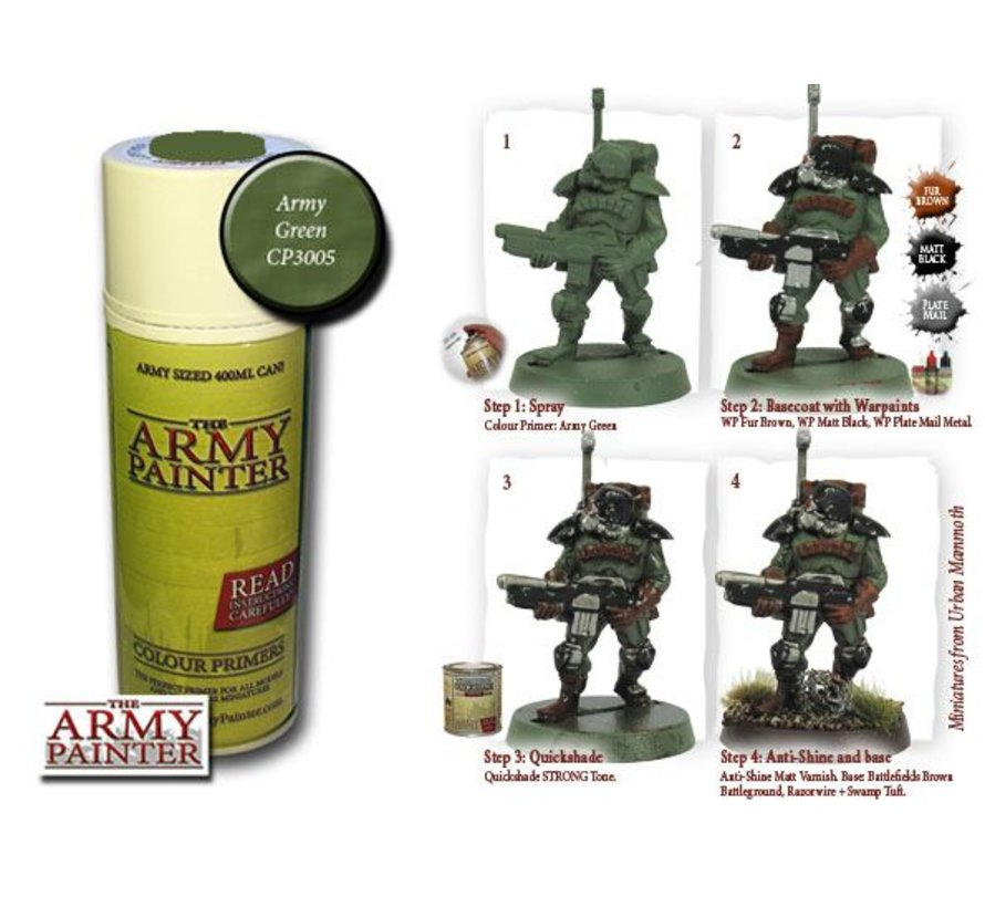 Army Green - Colour Primer - CP3005