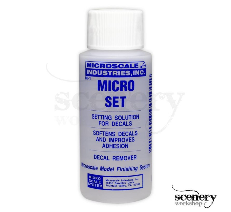 Micro-Set Decal Solvent - MI-1