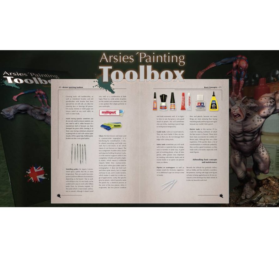 Arsies 'Painting Toolbox - 2e editie - Engels - 184pag