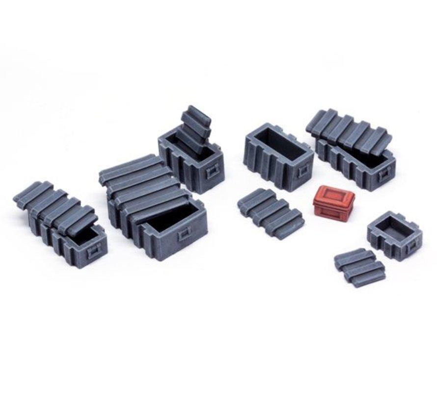 Plastic Boxes set 1 - TTA601077