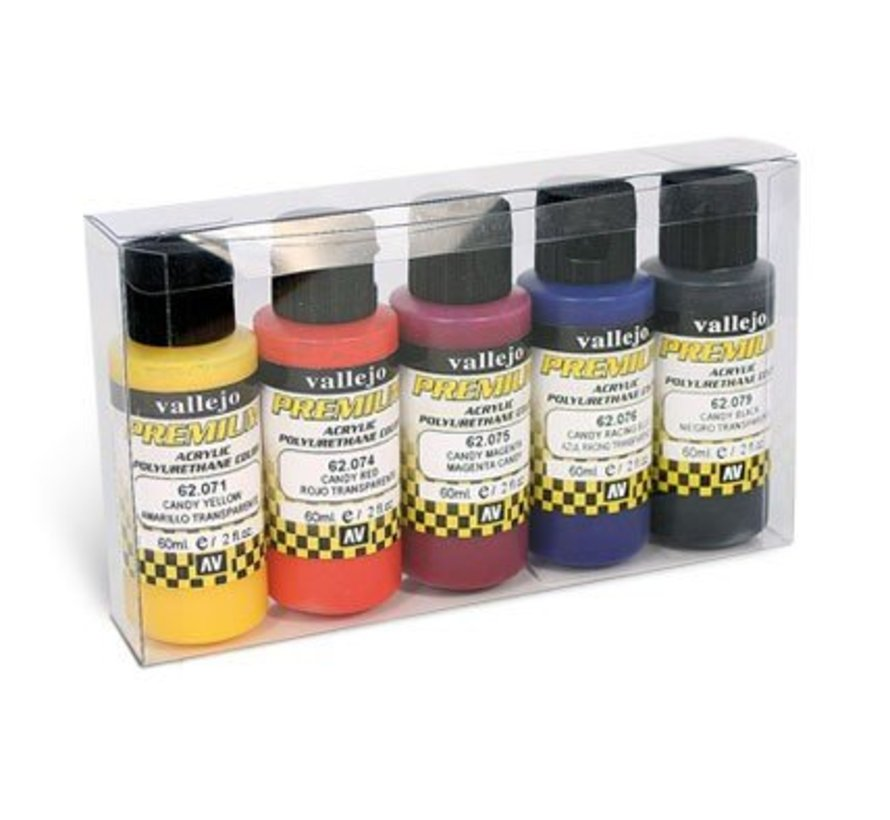 Premium Candy RC-Colors Set - 5 kleuren - 60ml - 62104