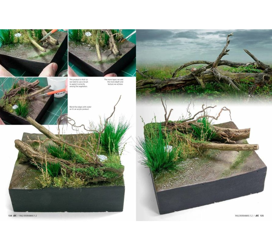 Dioramas F.A.Q. 1.2 Extension – Water, Ice & Snow - English - 140pag - AK8050
