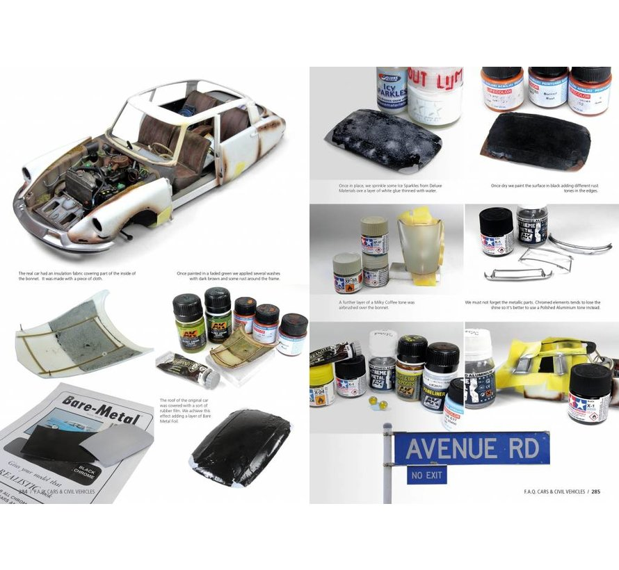 Civil Vehicles Scale Modelling F.A.Q. - English - 360pag - AK-282