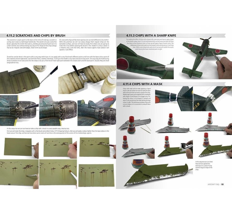 Aircraft Scale Modelling F.A.Q. - English - 380pag - AK-276-P