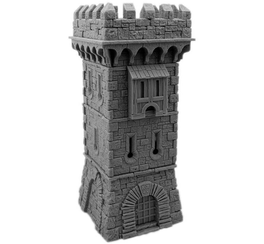 Guard Tower without Roof - MM-0071
