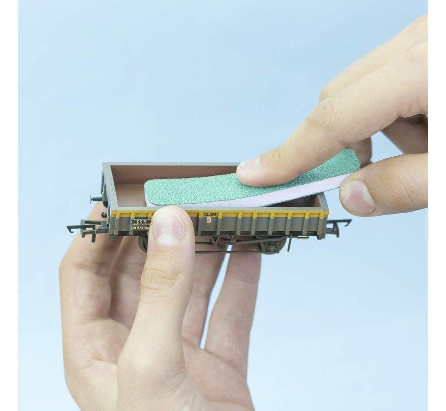 FlexiSander Dual Grit 90x19x6mm - schuurblok - 3x - Vallejo Tools - T04001