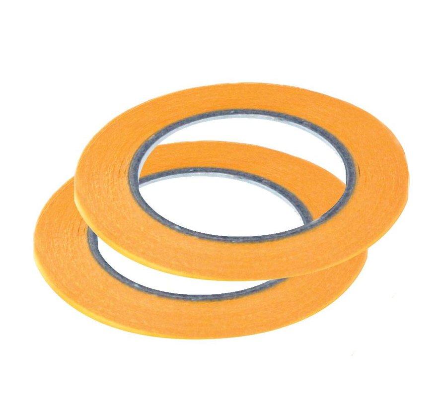 Precision Masking Tape 1mmx18m - 2x - Vallejo Tools - T07002