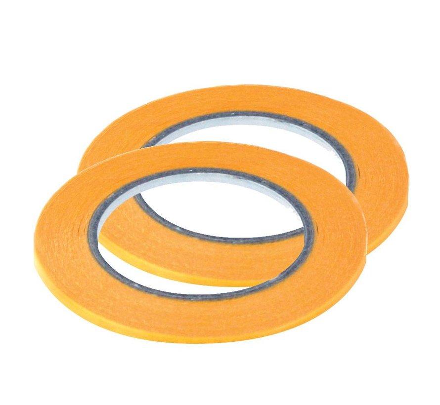 Precision Masking Tape 2mmx18m - 2x - Vallejo Tools - T07003