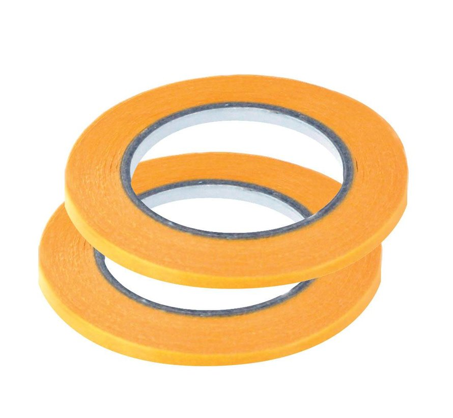 Precision Masking Tape 3mmx18m - 2x - Vallejo Tools - T07004