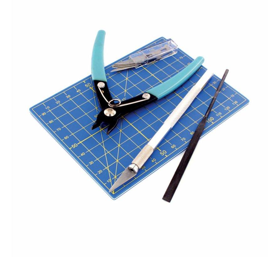 Plastic Modelling Tool set - 9x - Vallejo Tools - T11001