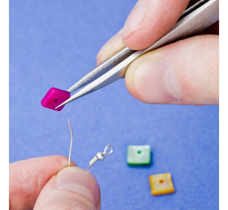 #3 Stainless steel tweezers - pincet met scherpe punt - Vallejo Tools - T12003