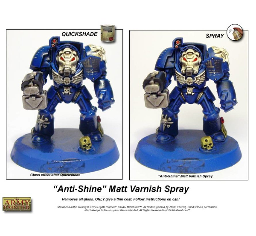 Anti Shine - Vernis - CP3003
