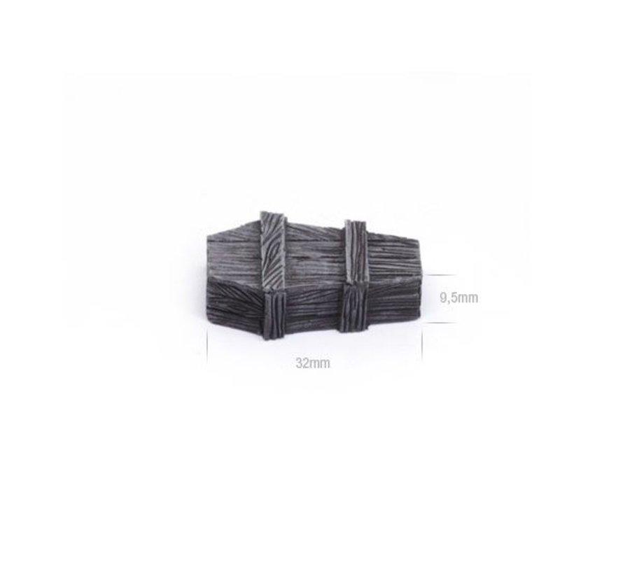 Wood coffins set 2 - TTA601073