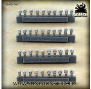 Mini Monsters Schedels - Skulls Set - 40x - MM-49