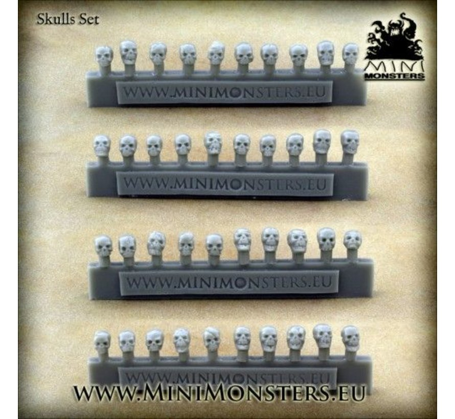 Skulls - 40x - MM-0049