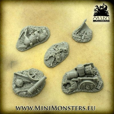 Mini Monsters Fantasy Battlefield Terrains - 5x - MM-50