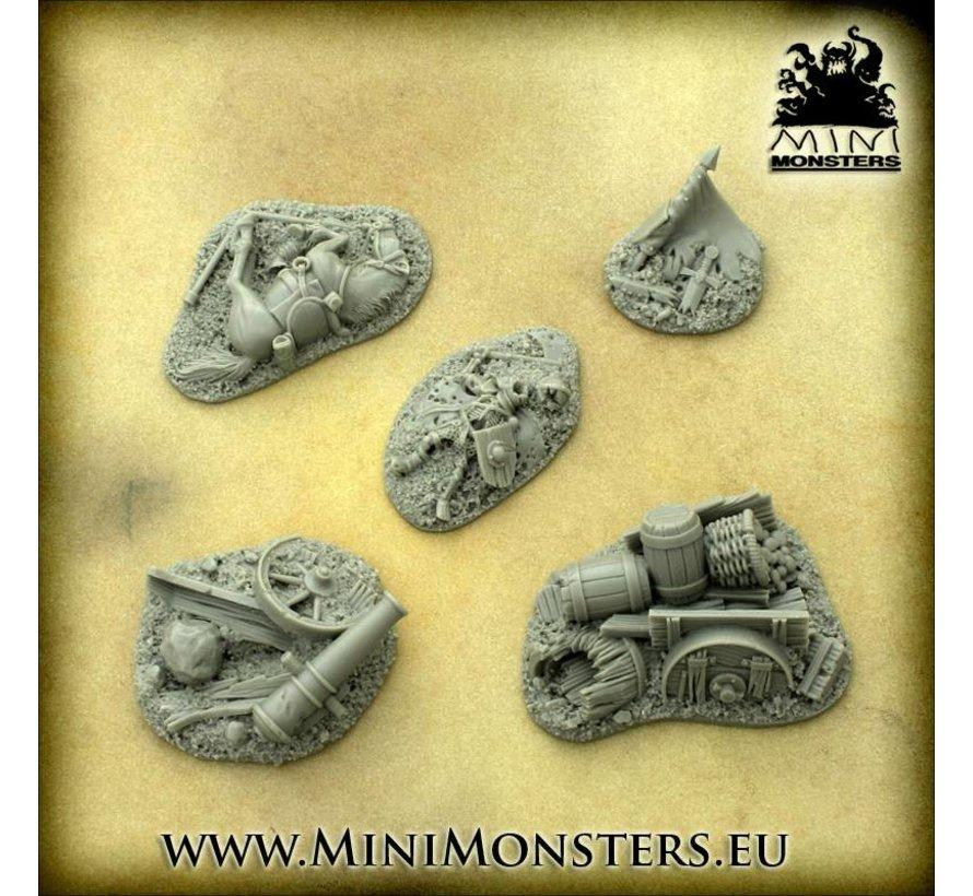 Fantasy Battlefield Terrains - 5x - MM-0067