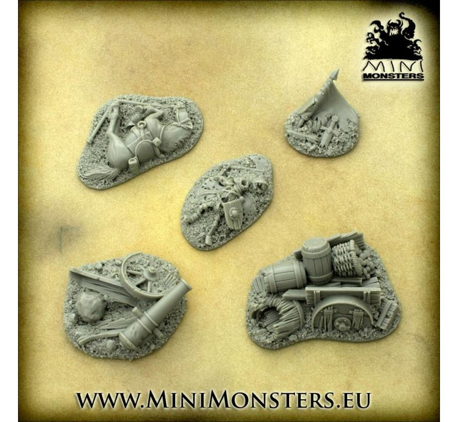 Fantasy Battlefield Terrains - 5x - MM-50