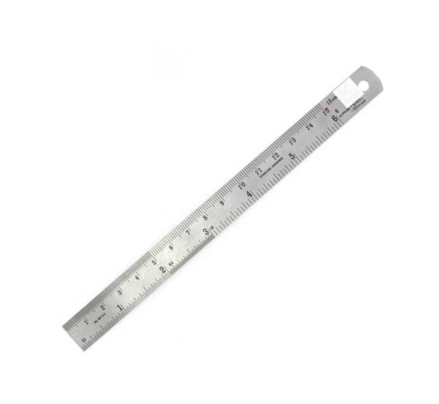 """Liniaal 15cm - 6"""" flexibel - PRU1006"""