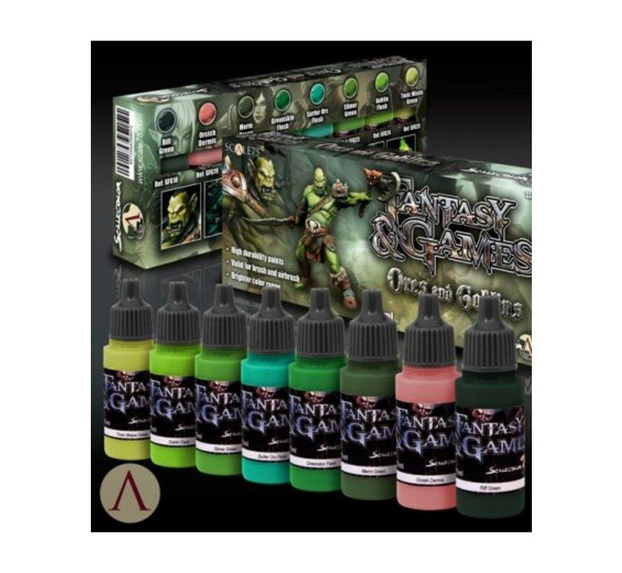 Orcs and Goblins - Fantasy & Games - 8 kleuren - 17ml - SSE-016