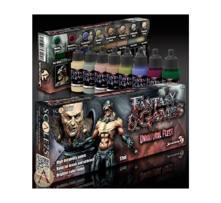 Unnatural Flesh - Fantasy & Games - 8 kleuren - 17ml - SSE-015