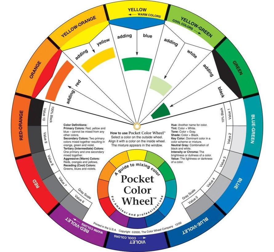 Pocket Color Wheel US - 13cm - 3501