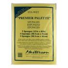 Masterson Art Sta-Wet Premier 3 Pack Sponge Refill - 3x - MA-105,53