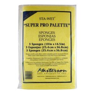 Masterson Art Sta-Wet Super PRO 3 Pack Sponge Refill - 3x - MA-1216,53