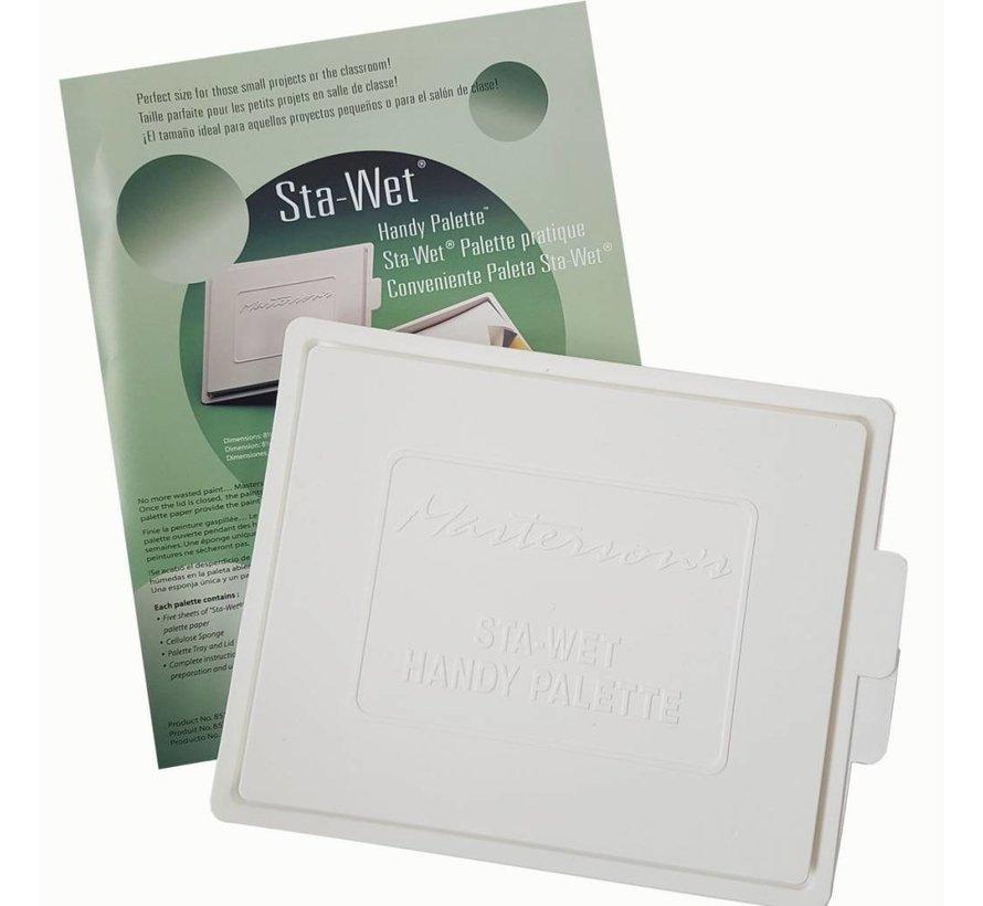 Sta-Wet Handy Palette (22cm x18cm) - MA-857