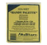 Masterson Art Sta-Wet Handy Palette Sponge Refill - 3x - MA-857,53
