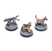 Tabletop-Art Dogs Set 1 - Sheepdogs - TTA200208