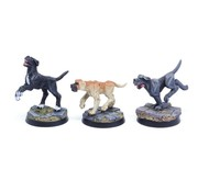 Tabletop-Art Dogs Set 2 - Mastiffs - 3x - TTA200209