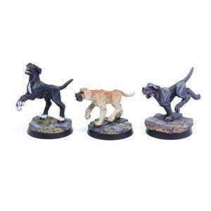 Tabletop-Art Dogs Set 2 - Mastiffs - 3x - TTA200209