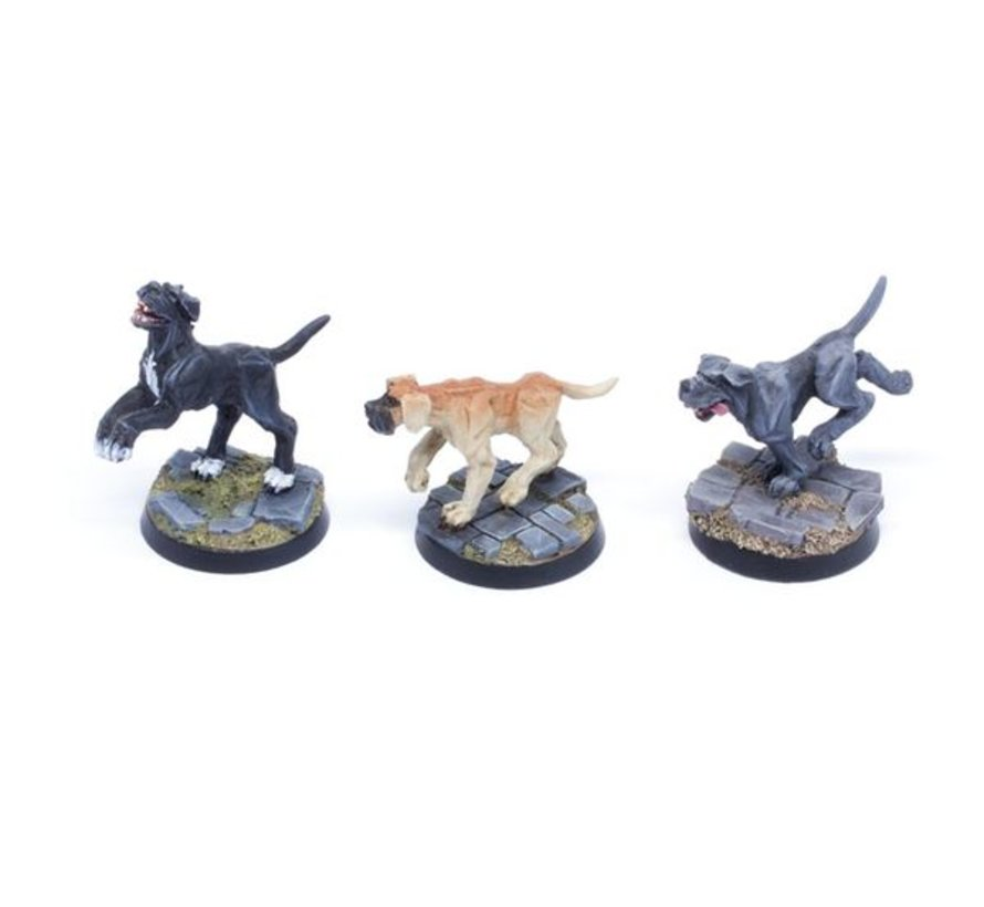 Dogs Set 2 - Mastiffs - 3x - TTA200209