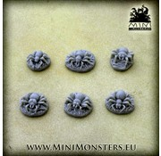Mini Monsters Spiders (Spinnen) - 6x - MM-51