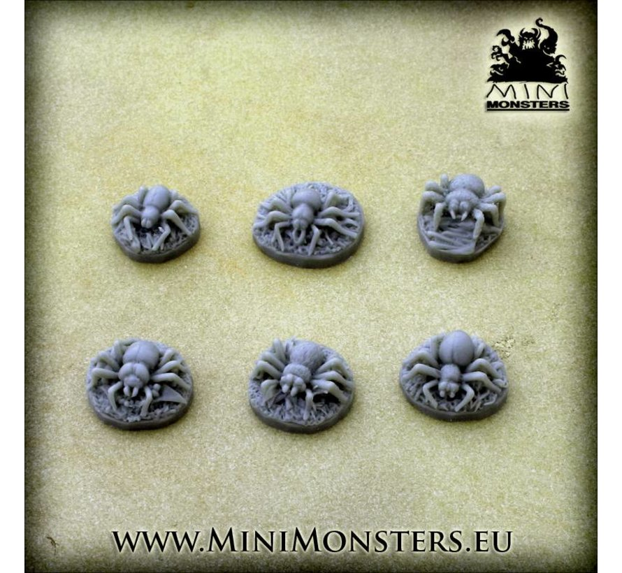 Spiders (Spinnen) - 6x - MM-51