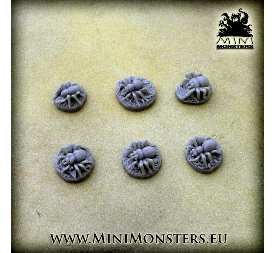 Spiders - 6x - MM-0065