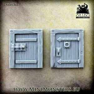 Mini Monsters Doors - 2x - MM-53