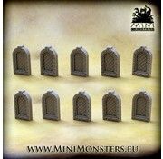 Mini Monsters Windows Set 1 - 10x - MM-54