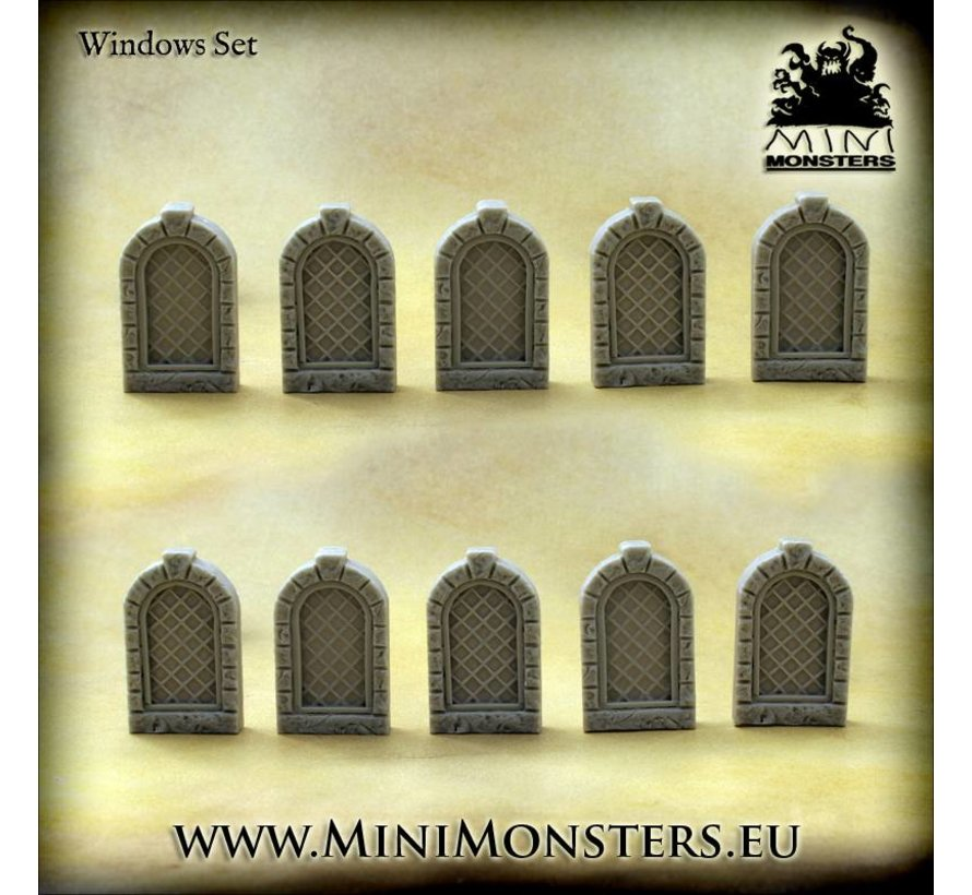 Windows Set 1 - 10x - MM-54