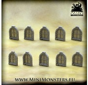 Mini Monsters Windows Set 2 - 10x - MM-55