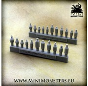 Mini Monsters Bottles and Flasks - 22x - MM-57