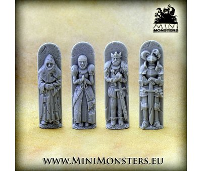 Mini Monsters Gothic Cathedral Left Corner - MM-59