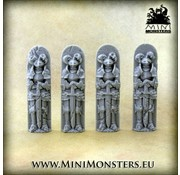 Mini Monsters Figures Knight - MM-64