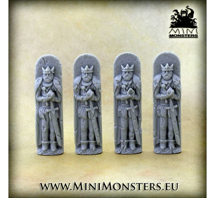 Figures King - 4x - MM-0076K