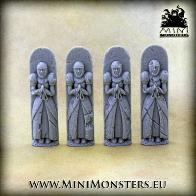 Mini Monsters Figures Lady - MM-62
